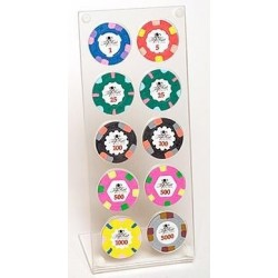 Chips Tree For 10 Chips - Espositore Porta Fiches
