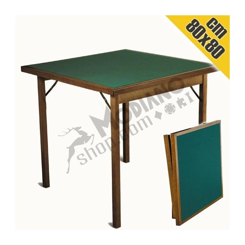 Tavolo da gioco lusso in legno rettangolare 80x80 cm - Gioco da tavolo non t arrabbiare ...