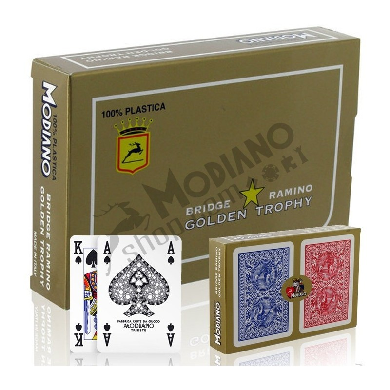 Carte Modiano GOLDEN TROPHY Ramino Bridge