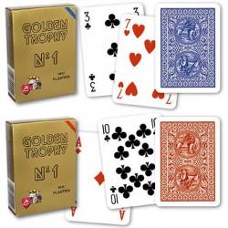 Carte  Poker Golden Trophy 4 Standard Index