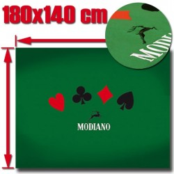 Tappeto Poker 180x140 cm Ricamato