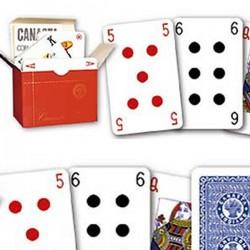 Carte CANASTA 107 con Astuccio Cartone