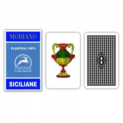 Carte Regionali SICILIANE 100% PVC Blu