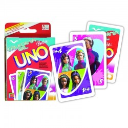 UNO BARBIE Gioco di Societa ORIGINALE