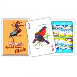 Carte POKER SPECIAL BIRDS