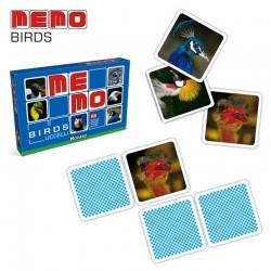 Gioco MEMO FOTOGRAFICO BIRDS per Bambini