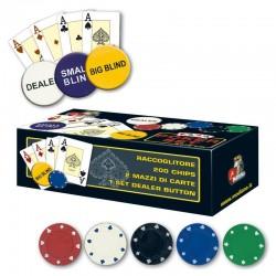 SET 200 Chips 3,75g Texas Hold'em Texas Hold'em