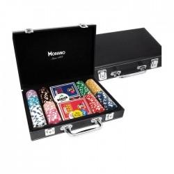 VALIGETTA 200 Chips Poker Similpelle (vuota)